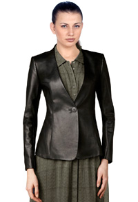 formal-one-push-button-leather-blazer