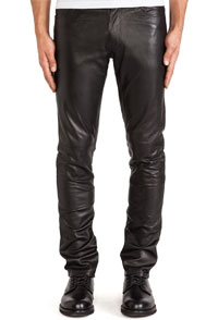 mens-leather-tapered-fit-biker-pants