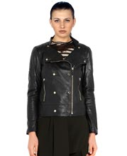 studded-cross-zip-glossy-leather-biker-jacket