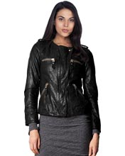 cool-collarless-leather-biker-jacket