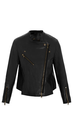 Modern and Classic Leather Biker Jacket