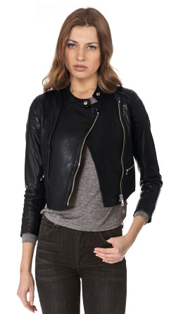 Ultramodern and Chic Leather Motorcycle Jacket