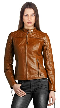 Stylish and Sleek Quilted Biker Jacket