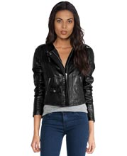 Smart-lambskin-leather-jacket-with-a-concealed-front-zip-closure