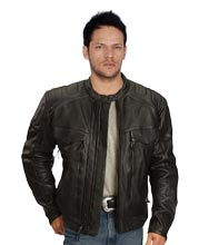 zipper-gusset-mens-leather-biker-jacket