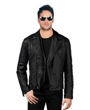 Peppy Leather Biker Jacket for style freaks