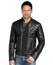 sturdy-biker-leather-jacket-with-flexible-buckle-hip-tab