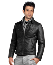casual-lapelled-leather-biker-jacket