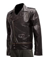 Napoleonic Style Peppy Biker Leather Jacket