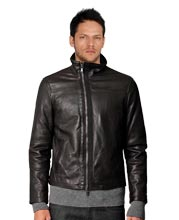 asymmetrical-zipped-leather-biker-jacket-with-high-collar