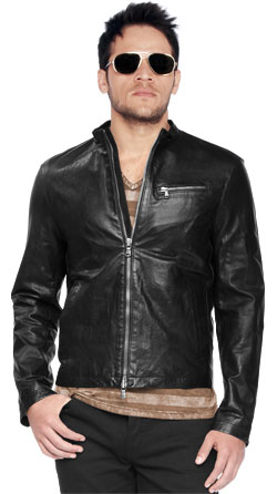 Revved up Moto Inspired leather Jacket