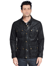 mens-moto-leather-jacket-with-zip-and-snap-flap-placket-closure