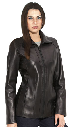 Authentic Women leather blazer