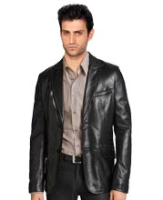silver-studded-mens-leather-blazer