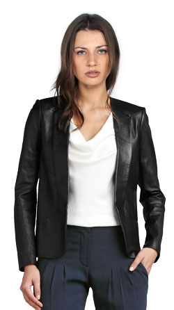 Versatile Leather Blazer for Every Occasion