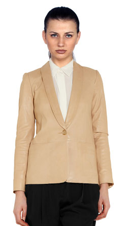 Buttery Soft Lambskin Blazer for Women
