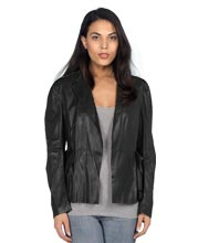 Semi Formal Stylish Leather Blazer