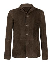 dual-collared-suede-leather-blazer