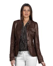 lustrous-brown-leather-blazer