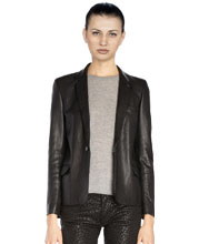 womens-classy-leather-blazer-with-buttoned-cuffs