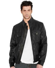 Daredevil Leather Bomber Jacket for Men