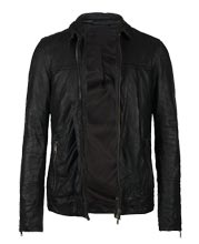 Slim Fit Tricky and Sporty Bomber Leather Jacket