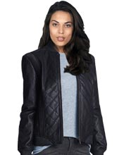 Leather-bomber-jacket-with-a-quilted-pattern