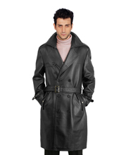 double-breasted-trench-mens-leather-coats