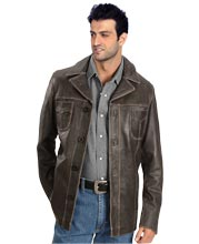 Machismo Leather Coat for Men