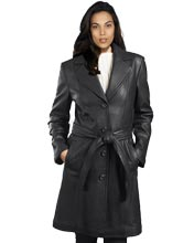 trench-waist-womens-leather-coats