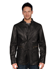 Exquisite Leather Coat for Men