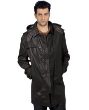 cape-style-and-hooded-mens-leather-coat