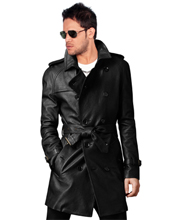 raglan-sleeved-mens-leather-trench-coat