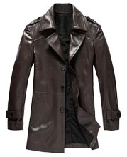 Rugged and Trendy Mens Leather Coats