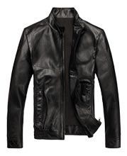 Classy Slim Fit Motorcycle Leather Coat