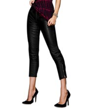 ankle-detailed-womens-leather-capri-pants