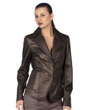 sleek-tight-fit-corporate-womens-leather-blazer