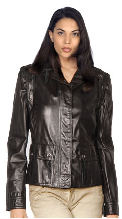 Niminy-Piminy corporate leather jacket for women
