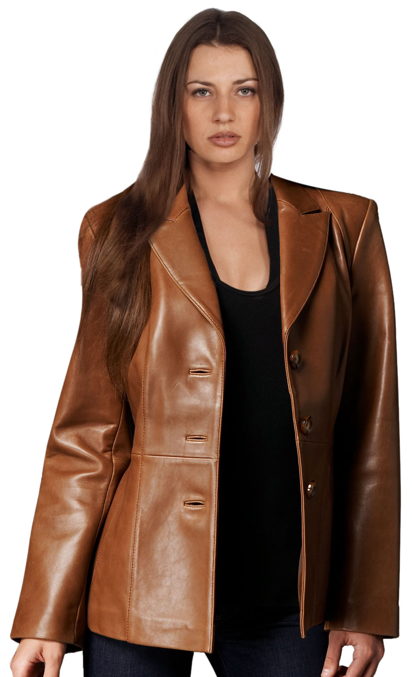 Leather corporate wear | business attire for women