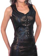stunning-back-zipper-leather-corset