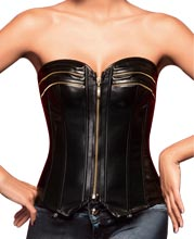 crew-patterned-leather-corset