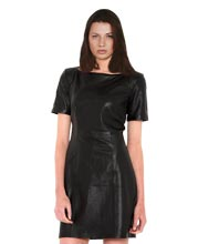 satin-lining-womens-leather-dress
