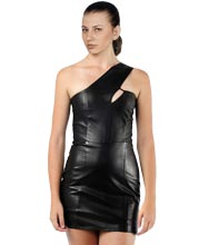short-sultry-womens-leather-dress