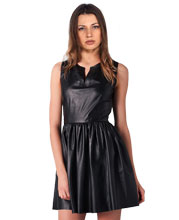 sleeveless-leather-dress-with-secret-zip