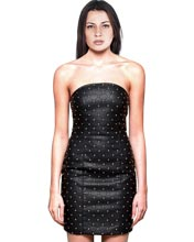 smoking-hot-diamond-quilted-short-leather-dress