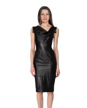 chic-urbane-leather-dress