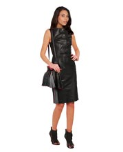 sleek-and-peppy-leather-dress