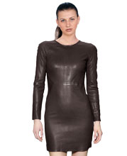 smoking-full-sleeved-leather-dress