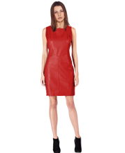 leather-dress-with-intricate-detailing