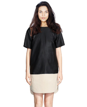 womens-lambskin-shift-dress-with-a-classy-silhoutte-and-round-neck